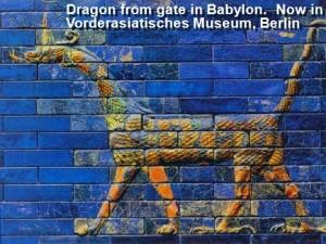 Babalonian dragons
